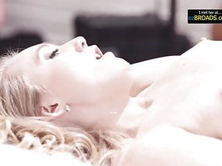 Hot Blonde Cheats on Boyfriend For The First Time