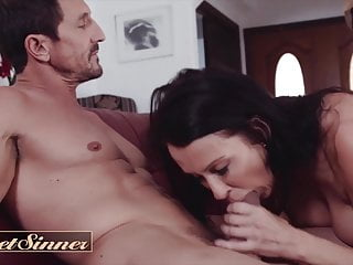 Dilf cheats on his wife with big tit milf -  SweetSinner