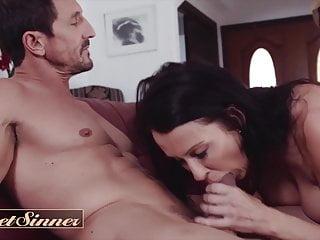 Dilf cheats on his wife with big tit milf -  SweetSinner