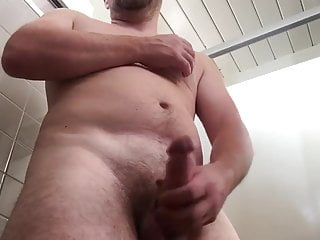 OFF JERKING IN PUBLIC TOILET GUY