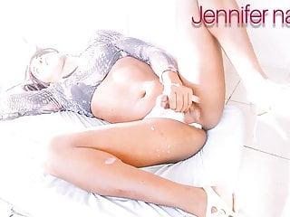 Jennifer nanda trans gostando gostoso...