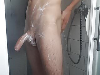 Shaving jerking my young ass spread boy...