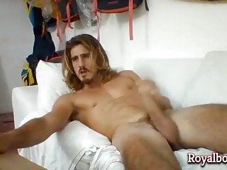 Sexy Blond Guy Webcam Solo
