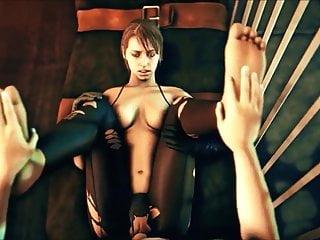 Blowjob Big Ass Handjob video: Nice 3D Girls want your Dick