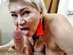 blowjob masterclass from milf-mature beauty aimee paradise.Porn Videos