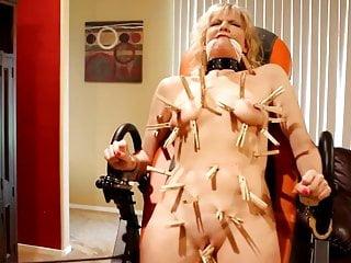 Hardcore Bdsm Blonde video: Clothes Pin Torture