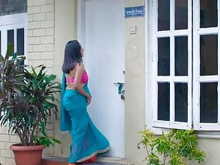 Indian Neighbour Bhabhi Flashes Young Guy