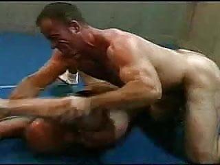 Wrestling...