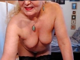 Webcam granny strip show