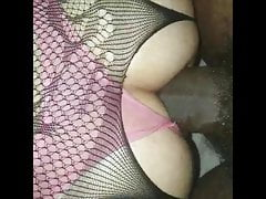 Very Fat 10 Inch Big Black Cock Spreads My Vagina & It Perceives Great!