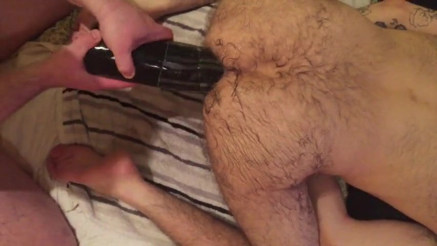 Hairy Ass Fisting