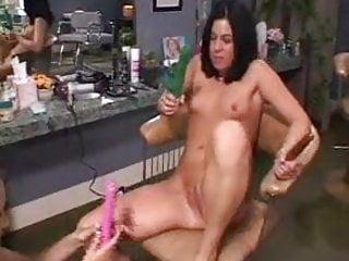 Another lesbian gangbang fantasy