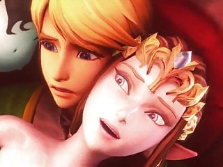 by Princess Zelda Link enjoying Cock Ganon's cuckolded