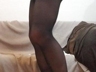 Masturbation Pantyhose no cumming