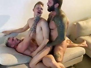 3 Canadian hunks DP raw