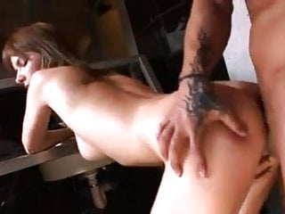 Bulgarian Lora Row arse-fucked in nightclub toilet