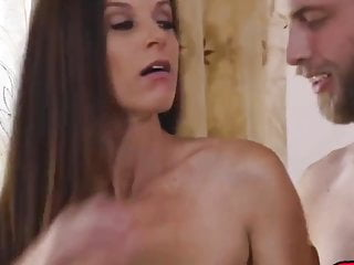 insatiable cougar India Summer riding cock and tasting jizz