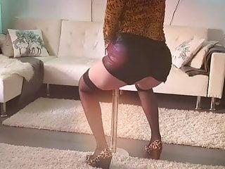 BambiAmbitas JOI with pole dance and buttplug
