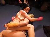 Its Cleo And Carmen Valentina Wrestle