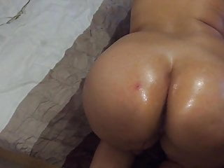 Self oil messge on her...