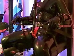 Breath Control, electro and ruined orgasm for the slave