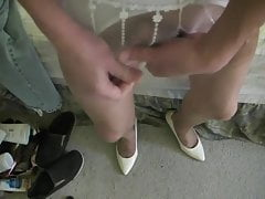 tan rht stockings and 3 cumsPorn Videos