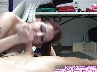 German girl goes really really horny at fucking...