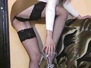 Morana Puts On Wild Striptease And Masturbates Brunette Hairy Masturbation Small Tits