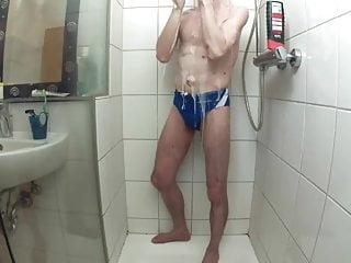 in shower new speedo