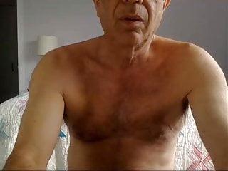 Grandpa opa cum on cam...