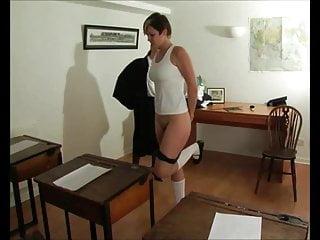 Bare bottom caned
