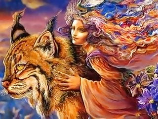 Fantasy Josephine Wall of Art Visionary