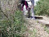 Cinese MILF in a Public Park.mp4