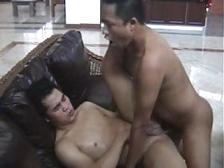 2 indonesian chubbies bareback...