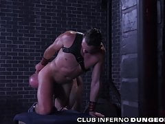 ClubInferno Pierce Paris Dominates and Fists His New Sub