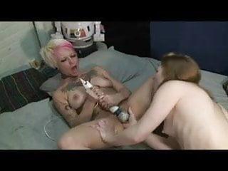 Lesbians with tattoo