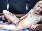 Femboy Squirts Twice