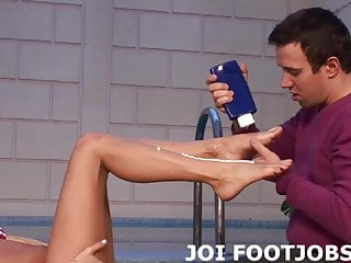 I will put my feet right in your face JOI