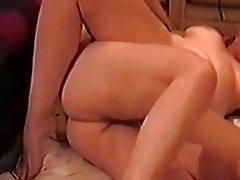 Wife banged on the floor