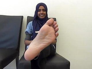 Hijab arab soles