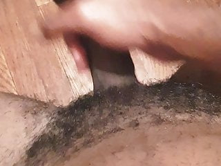 Playing with my black dick
