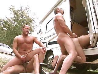 Cop orgy at cruising