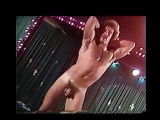 Porno Stripper with Stache Hot Vintage