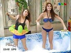 Silvina Luna en bikini en La pelu