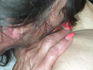 Her First time eating pussy