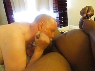My Big Black Dick Bruh Returns For Another BJ.