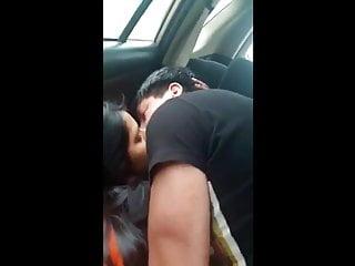 Indian beautiful girl xxx fucked in car