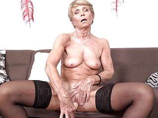 Frail small grandma wanna bang