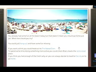 Hard times in hornstown sexy lifeguard beach...