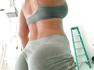 Pr Sweaty Florina Butt Fitness Beauty